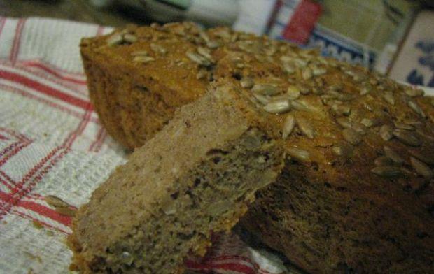 Chleb gryczano-owsiany na drożdżach