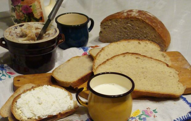 Chleb z dodatkiem ziemniaków