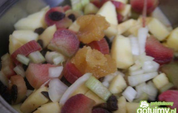Chutney rabarbarowy z curry