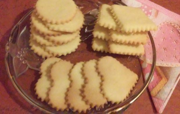 Ciasteczka budyniowe