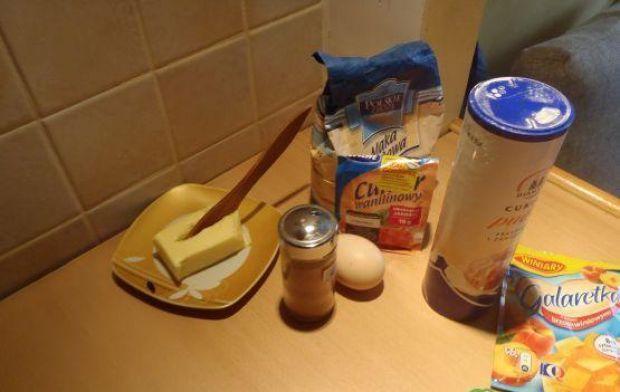 Ciasteczka cynamonowe z galaretką