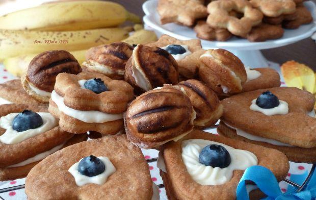 Ciasteczka i orzeszki bananowe