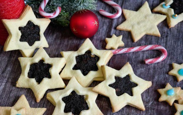 Ciasteczka makowe gwiazdki
