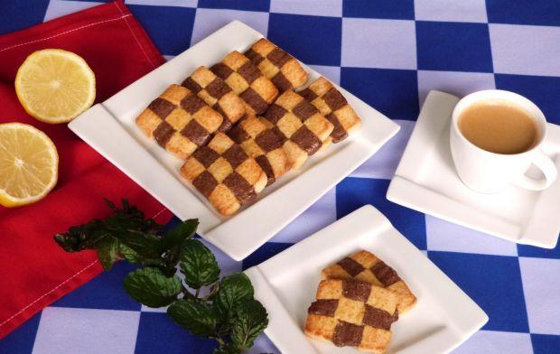 Ciasteczka szachownice