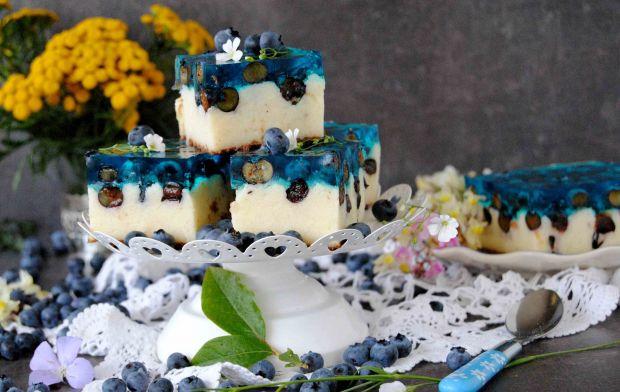 Ciasto borówkowe z kaszą manna