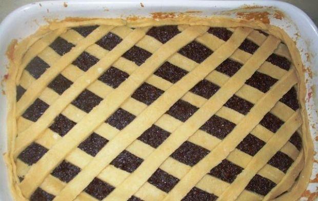 Ciasto makowe, kruche - łatwe