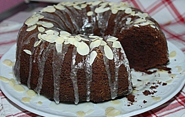 Ciasto miodem pachnące -Murzynek z miodem
