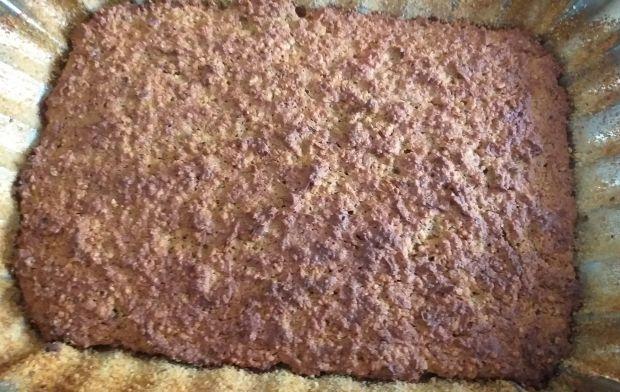 Ciasto orzechowo - marchewkowe z cynamonem
