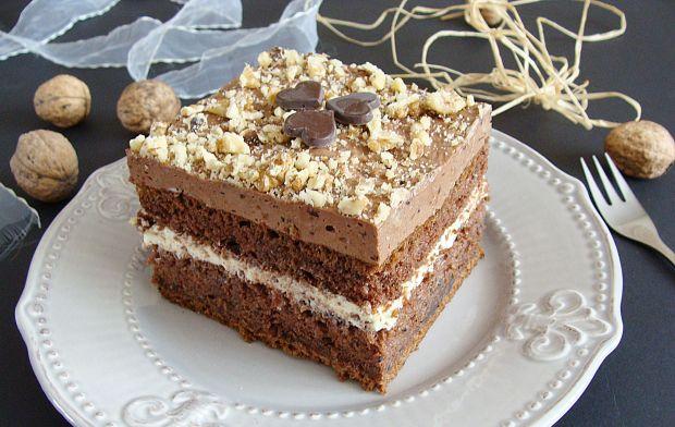 Ciasto porzeczkowa fantazja z czekoladą
