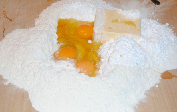 Ciasto serowa krówka