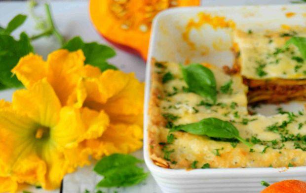 Dyniowe lasagne