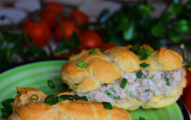Eklerki z pastą jajeczno - tuńczykową