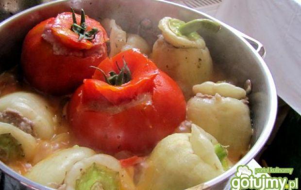 Faszerowane papryczki i pomidory