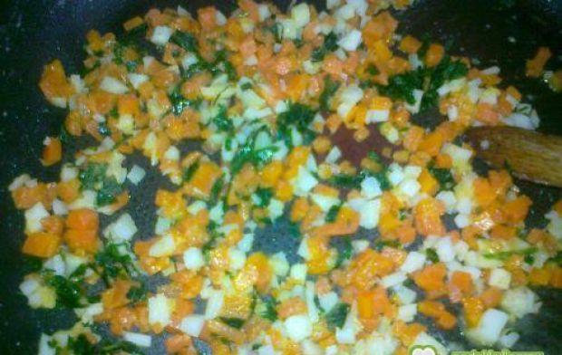 Flaczki wieprzowe  - Warzywa ugotowałam w wywarze