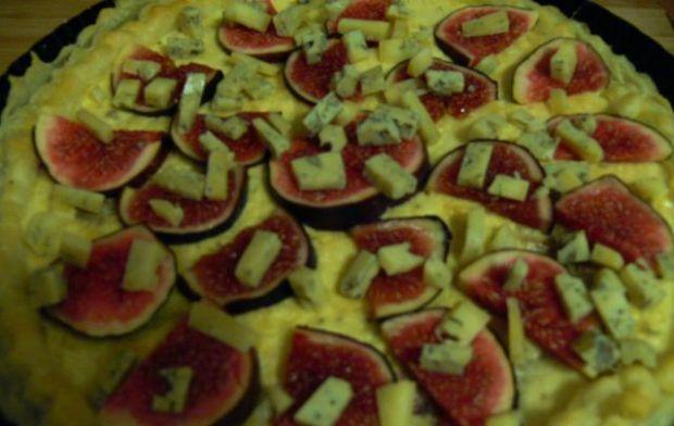 Francuska tarta z figami i serem