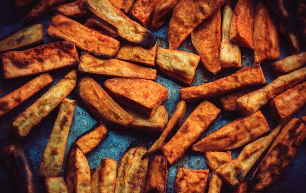 frytki z batatów