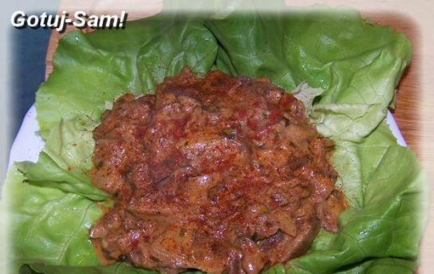 Gombapaprikas czyli paprykarz z grzybów.