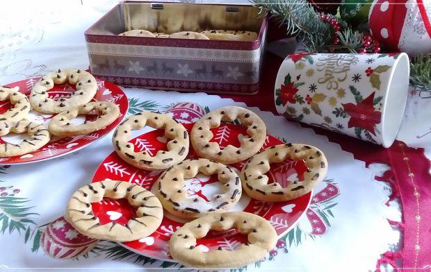 Gwiezdne ciasteczka z domową chałwą