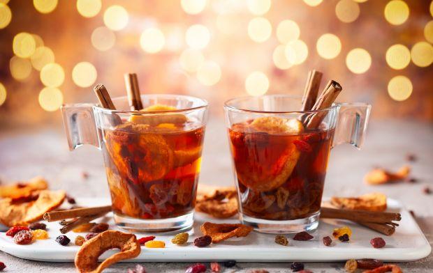 Herbata zimowa z suszonymi owocami