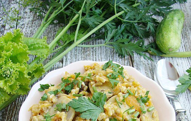Jarskie kaszotto z warzywami
