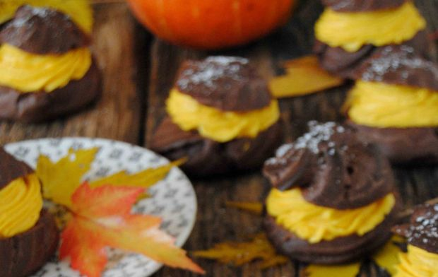 Kakaowo - dyniowe ptysie