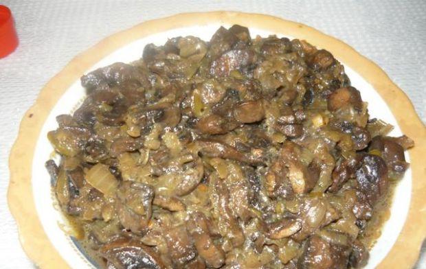 Kieszonki schabowe z serem i pieczarkami