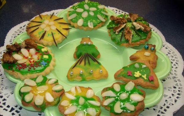 Kolorowe ciasteczka.