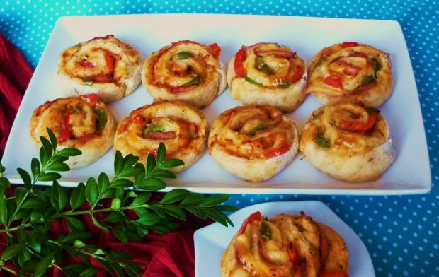 Kolorowe mini pizze