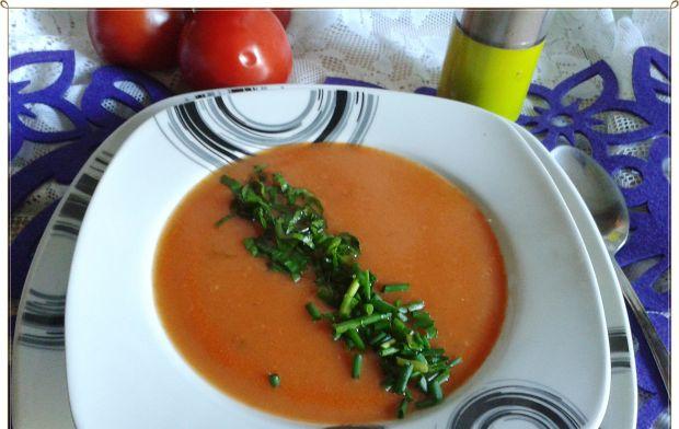 Krem pomidorowo-ziemniaczany