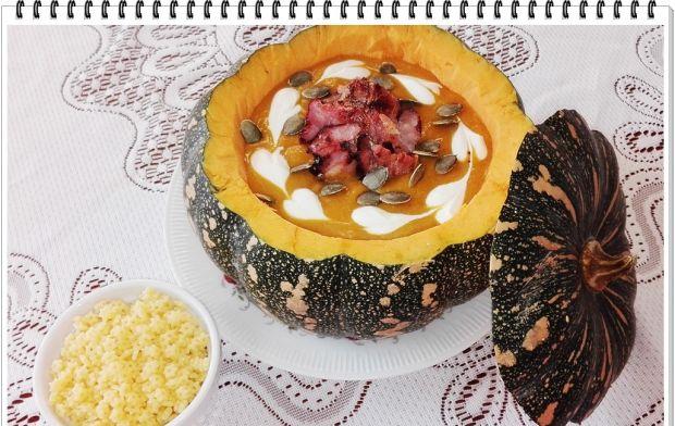 Kremowa zupa Eli dyniowo cebulowa