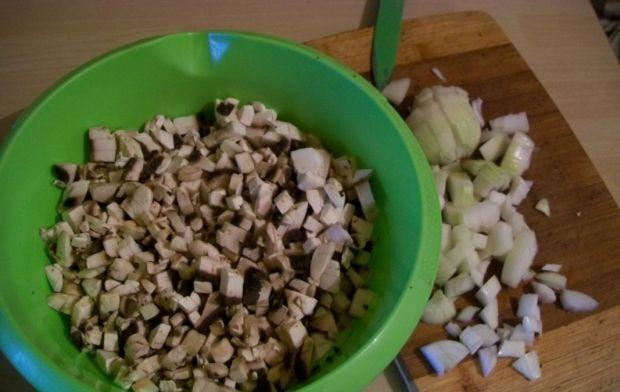Krokiety z kiszoną kapustą i pieczarkami