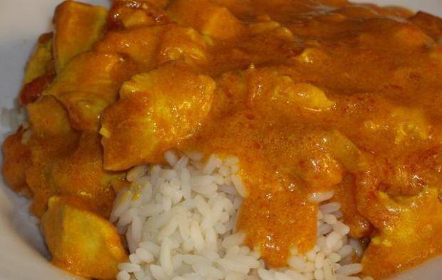 Kurczak murgh makhani czyli butter chick