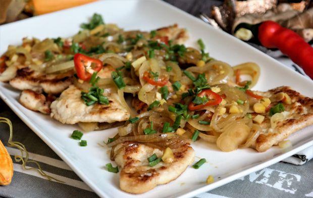 Kurczak w ostrym sosie