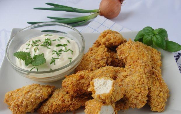 Kurczak W Platkach Kukurydzianych