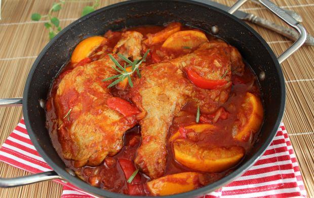 Kurczak w pomarańczach po hiszpańsku
