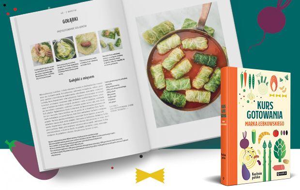 Kurs gotowania Marka Łebkowskiego przepis na gołąbki