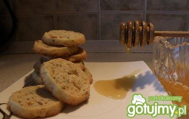 Lawendowo-miętowe ciasteczka na miodzie.