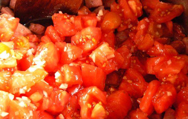 Leczo ze świeżymi pomidorami