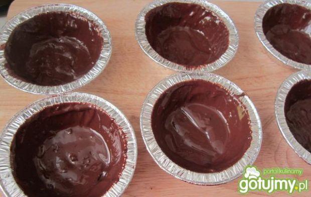Lody waniliowo-miętowe w  miseczkach