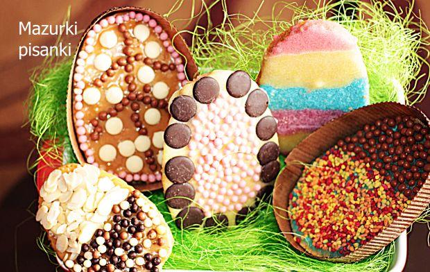 Mazurek pisanka Wielkanoc tuż tuż