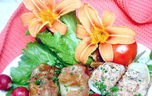 Mielone w cebuli z grilla