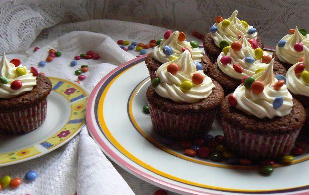 Migdałowe muffinki z czekoladą