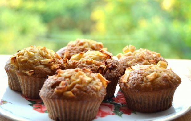 Muffinki z dynią i jabłkami