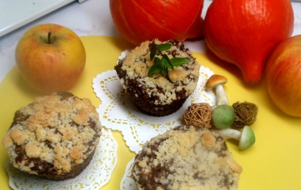 Muffinki z gruszką