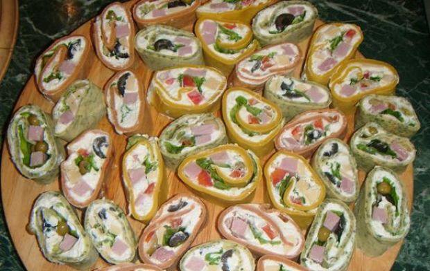 Naleśnikowe a'la sushi