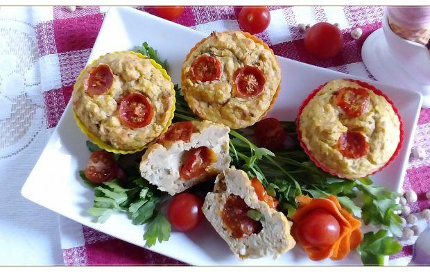 Obiadowe muffinki z ciecierzycy