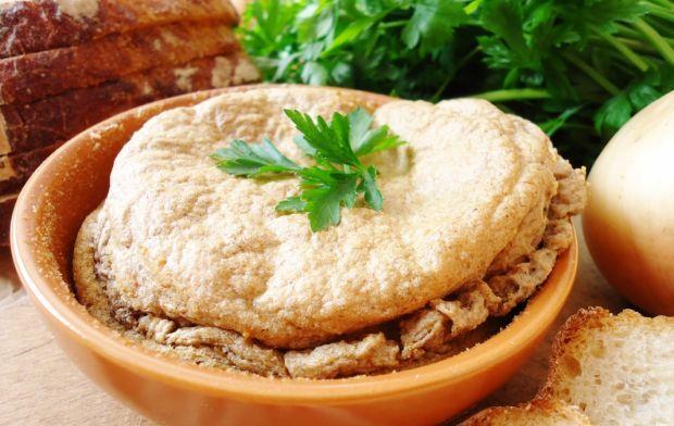 Pasztet grzybowo-ryżowy dla wegetarian