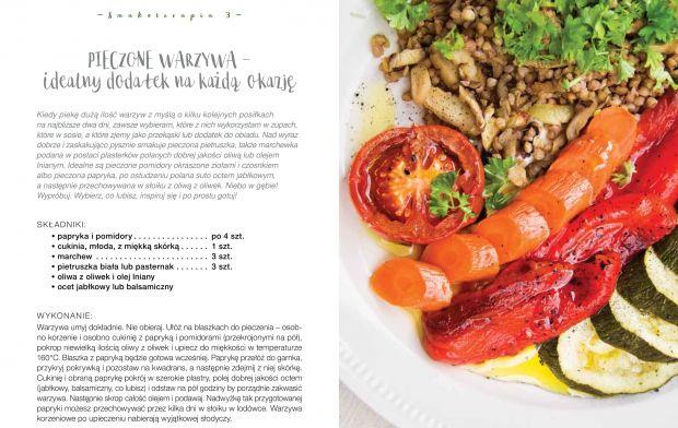 Pieczone warzywa - przepis Iwony Zasuwy, Smakoterapia