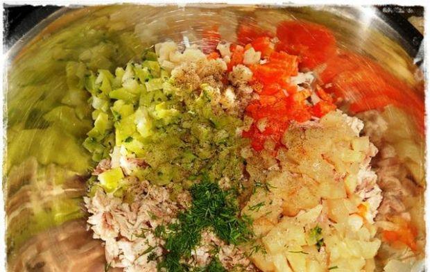 Pierogi po-rosołowe mięsno-warzywne