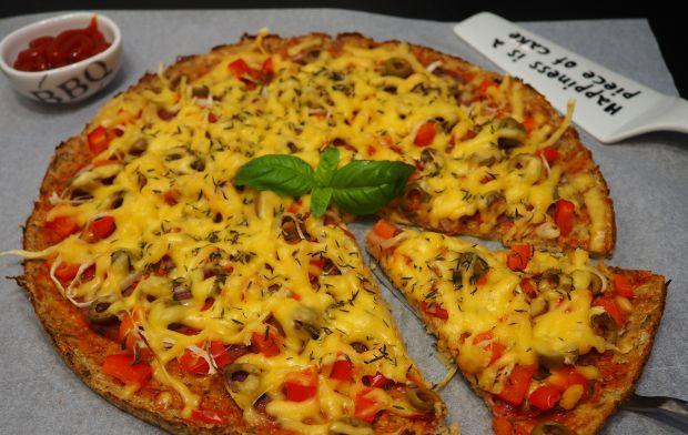 Pizza fit z kalafiora